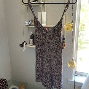 American Eagle Outfitters Dresses - Cheetah romper